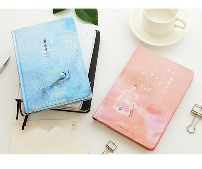 Kawaii meow Blue / A5 135x186mm Creative Notebook