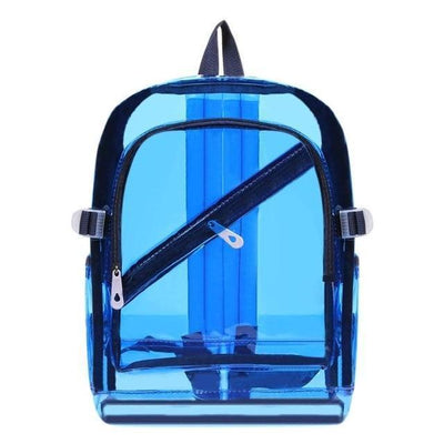 Kawaii meow Blue Fashion Hologram Backpack