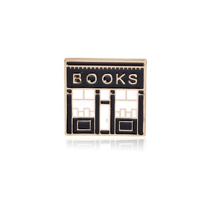Kawaii meow Books Book Brooches