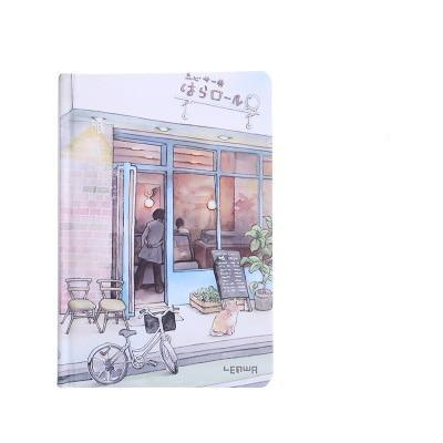 Kawaii meow C Small Notebook