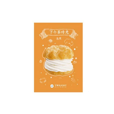 Kawaii meow Cake 4packs Kawaii Food Cartoon Sticky Notes