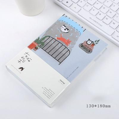 Kawaii meow Cat bed Cat Personal Diary Planner