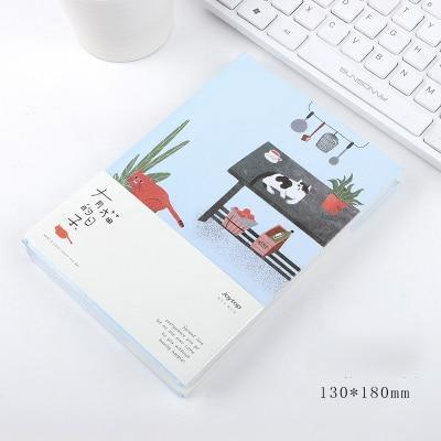 Kawaii meow Cat table Cat Personal Diary Planner