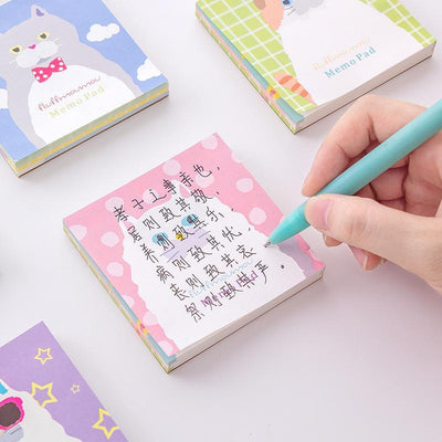 Kawaii meow Cute Cat Memo Pad