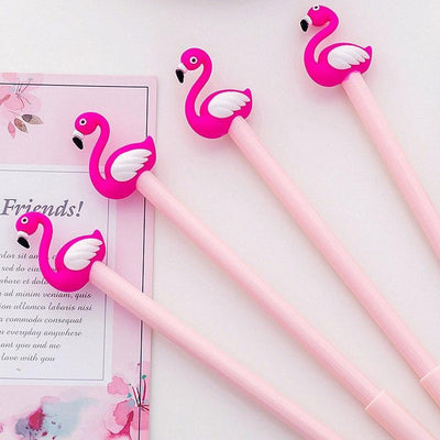 Kawaii meow Cute Flamingo Gel Pen