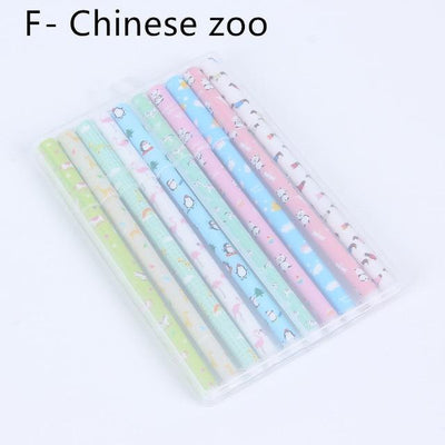 Kawaii meow F-Chinese zoo 10 pcs Color Gel Pens