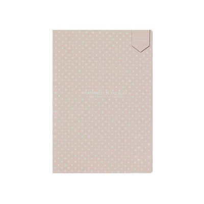 Kawaii meow Light Pink / 140x208mm Dot Grid Notebook Stationery Lattice Creative Journaling Book Simple Soft Cover Dotted Bullet Journal Bujo