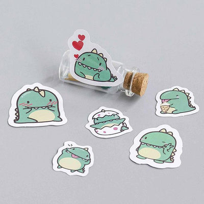 Kawaii meow Little Dragon Diary Stickers