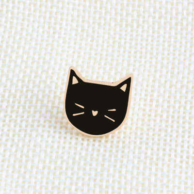 Kawaii meow Long Distance Cat Pins