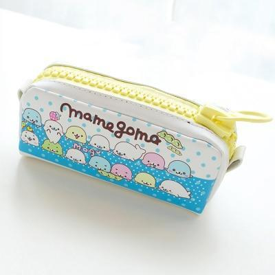 Kawaii meow Mamegoma Kawaii Zipper Pencil Case