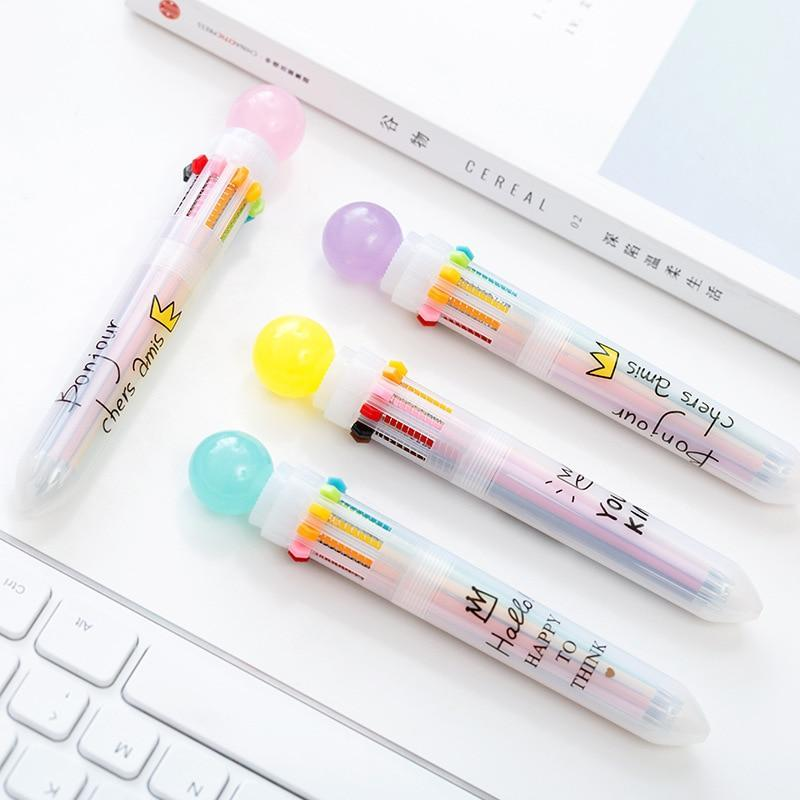 Kawaii meow Multi Colors Pen