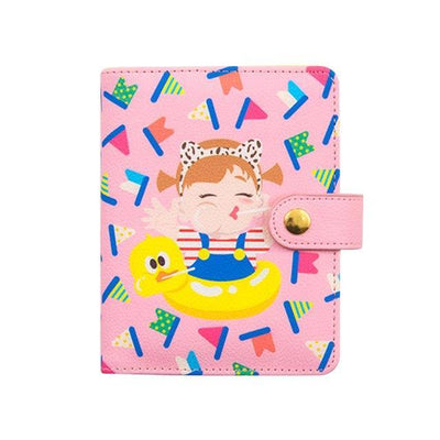 Kawaii meow Pink / A6 A6 A7 Notebook 2019 Agenda Planner Organizer Fichario Note Book Dividers PU Leather Spiral Weekly Personal Travel Diary Journal