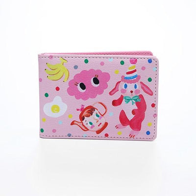 Kawaii meow Pink Cartoon Holder