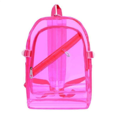 Kawaii meow Pink Fashion Hologram Backpack