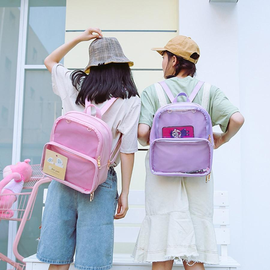 Kawaii meow Pink Harajuku Backpack
