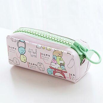 Kawaii meow Pink Kawaii Zipper Pencil Case
