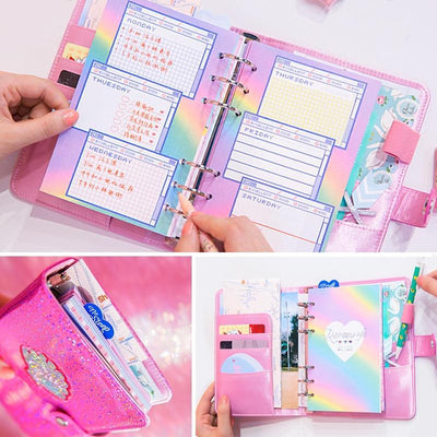 Kawaii meow Pink New Diary Book