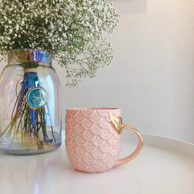 Kawaii meow Pink Pearl Coffee Mug