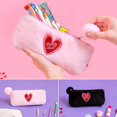 Kawaii meow Pink Women Plush Bag