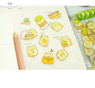Kawaii meow Polar Bear Cute Decorative Stickers