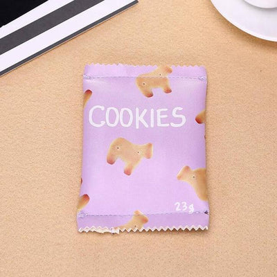 Kawaii meow Purple Candy Snacks Coin Purse
