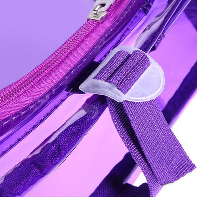 Kawaii meow Purple Fashion Hologram Backpack