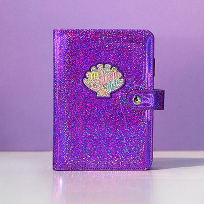 Kawaii meow Purple New Diary Book