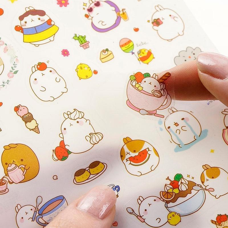 Kawaii meow Style 1 Korean Lovely Sticker Notebook