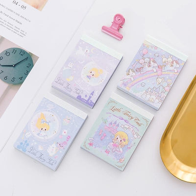 Kawaii meow Style 1 The Mermaid Princess Castle Fairy Maiden Unicorn Cartoon DIY Soft Cover Mini Notebook Diary Pocket Notepad Promotional Gift