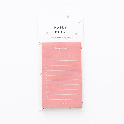 Kawaii meow Style 4 Creative Study&Work Plan Kraft Paper Sticky Notes Post Memo Pad Kawaii Stationery Office Accessory School Supplies BLT91