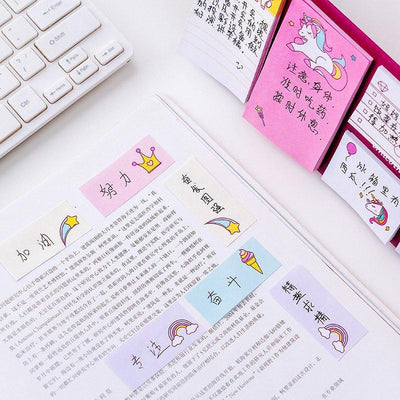 Kawaii meow Unicorn Dream Memo Pad Planner