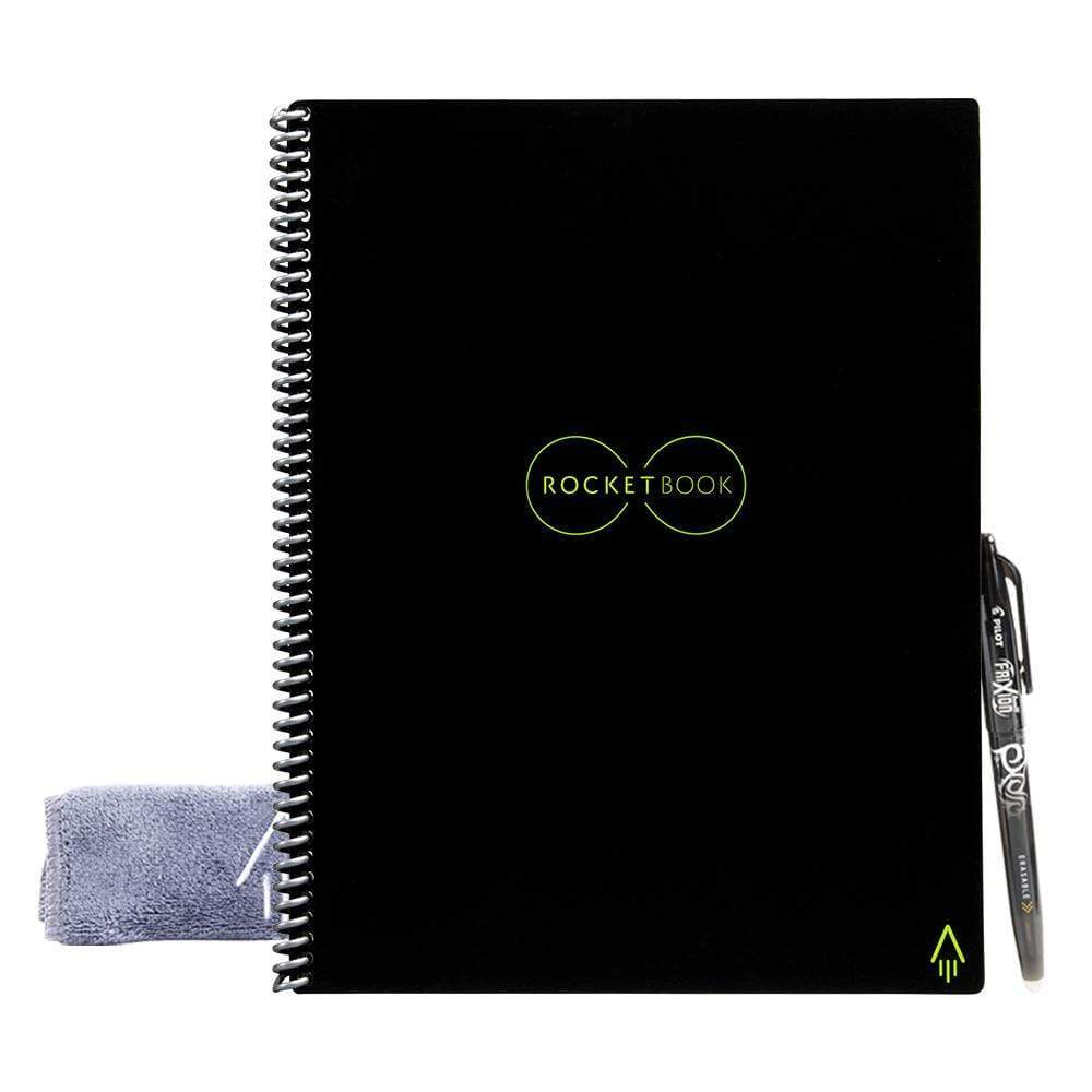 "Rocket Innovations Best Sellers Rocketbook Everlast meta:{""Cover Color"":""Infinity Black"",""Size"":""A4""}"