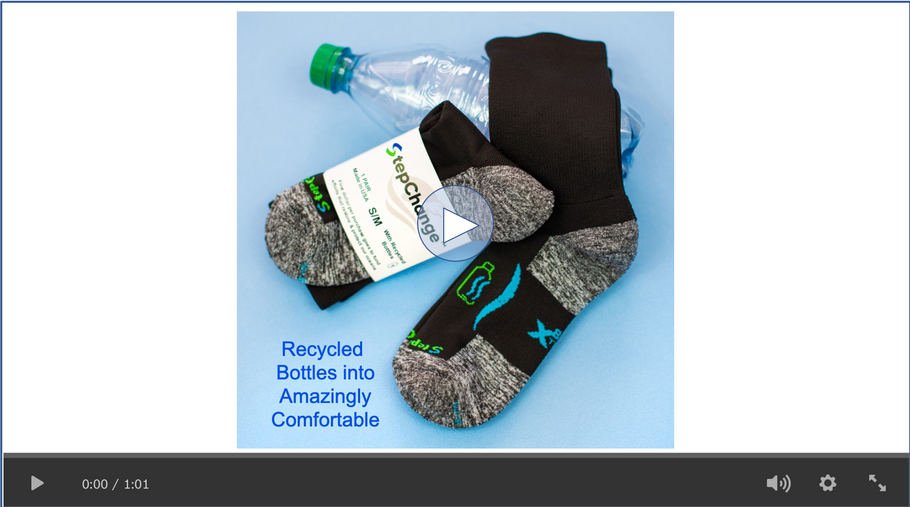 New X8 Sock Video - Can the Socks You Choose to Wear Make a Difference