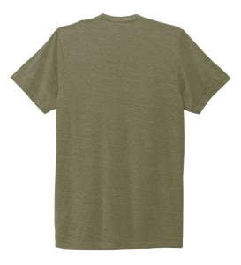 Unisex Crew Neck T-shirt in Earthy Green