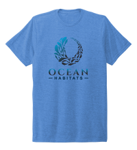 Load image into Gallery viewer, Ocean Habitats & Colin Thompson Collaboration - Unisex Crew Neck T-shirt in Sky Blue