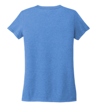 Load image into Gallery viewer, Ocean Habitats - Women's V-neck T-shirt in Sky Blue