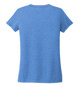 Women's V-neck T-shirt in Sky Blue