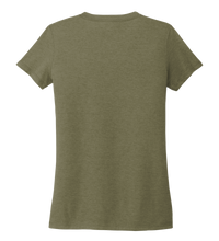 Load image into Gallery viewer, StepChange Women's V-neck T-shirt in Earthy Green