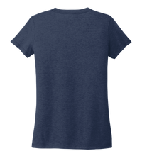 Load image into Gallery viewer, StepChange Women's V-neck T-shirt in Deep Sea Blue