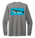 Ronnie Reasonover, The Whale, Crew Neck Long Sleeve T-Shirt in Oyster Grey