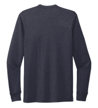 Load image into Gallery viewer, StepChange Unisex Crew Neck Long Sleeve T-shirt in Deep Sea Blue