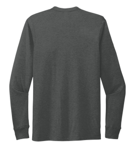 StepChange Unisex Crew Neck Long Sleeve T-shirt Slate Black