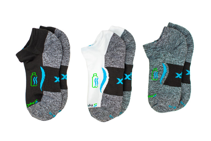 Ankle Sock Variety 3-Pair Bundle