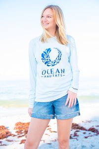 Ocean Habitats Shirt in Sea Foam Green