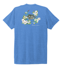 Load image into Gallery viewer, Alexandra Catherine, Blue Crab, Unisex Crew Neck T-shirt in Sky Blue