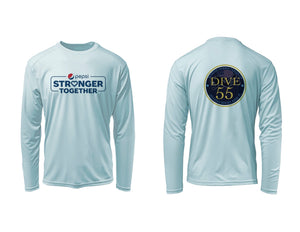 FORCE BLUE DIVE55 w/ PEPSI  Performance Shirt in Cloud Blue