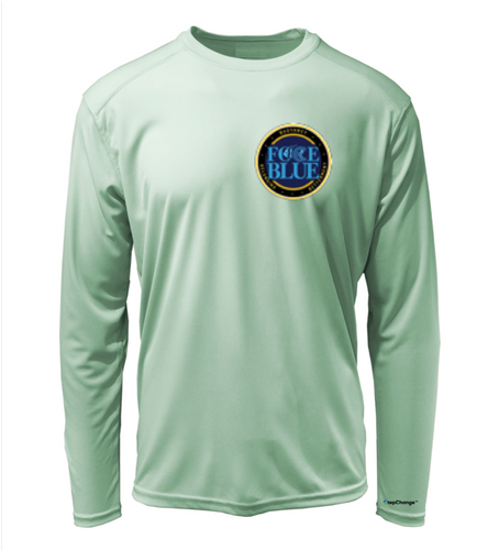 FORCE BLUE Shirt in Sea Foam Green