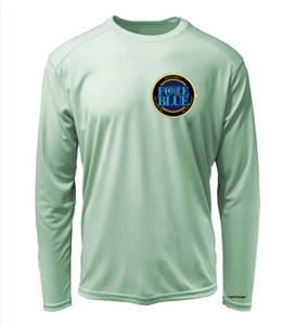FORCE BLUE 100 YARDS OF HOPE Shirt in Sea Foam Green