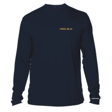 Load image into Gallery viewer, FORCE BLUE 100 YARDS OF HOPE Performance Shirt in Deep Sea Blue