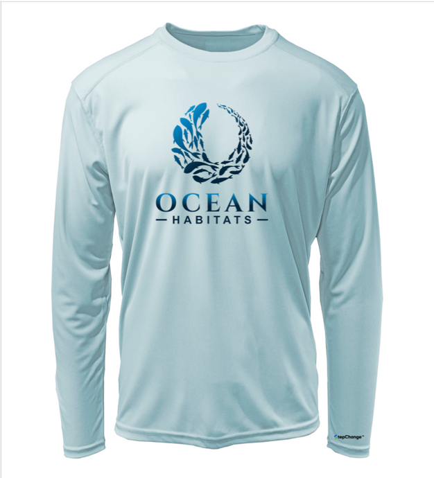 Ocean Habitats Shirt in Cloud Blue